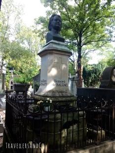 TravellersandCo-cementerio Pere-Lachaise-Balzac