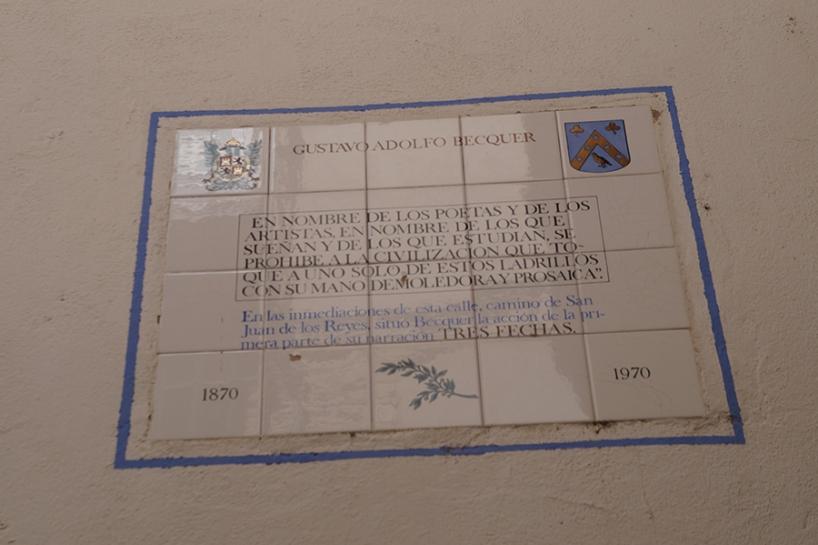 Homenaje a Bécquer. Toledo by TravellersandCo