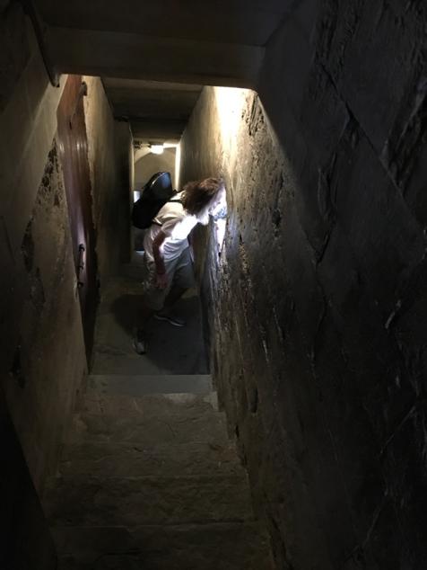 Escalera subida al Campanile-TravellersandCo