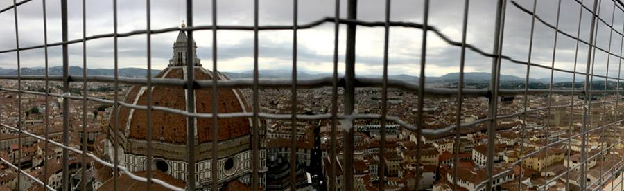 Florencia-Desde el CampanileTravellersandCo
