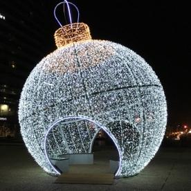 Detalles navideños en La Defense. París by TravellersandCo