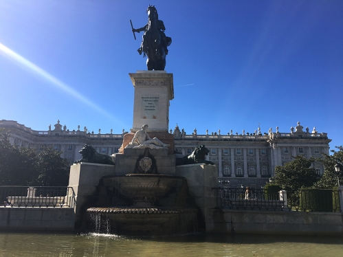 Palacio Real Madrid by TravellersandCo