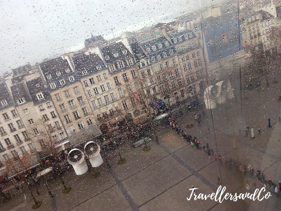 Paris desde el Museo Pompidou-Paris-TravellersandCo