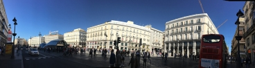 Puesta del Sol. Panorámica de Madrid by TravellersandCo