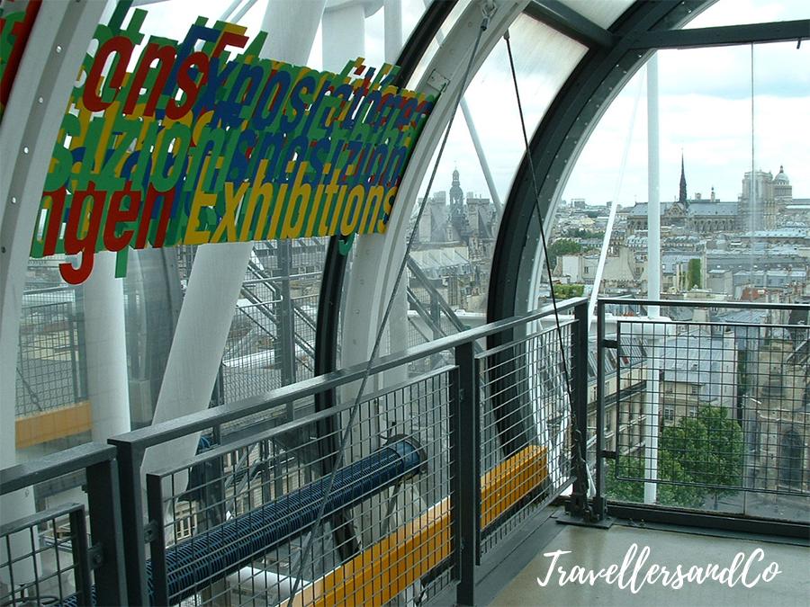 Vistas de Paris desde el Museo Pompidou-Paris-TravellersandCo