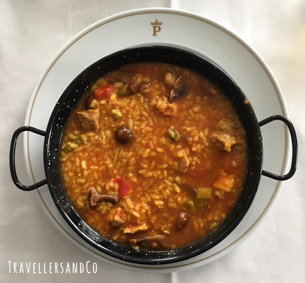 Arroz caldoso con choco con verduras by TravellersandCo