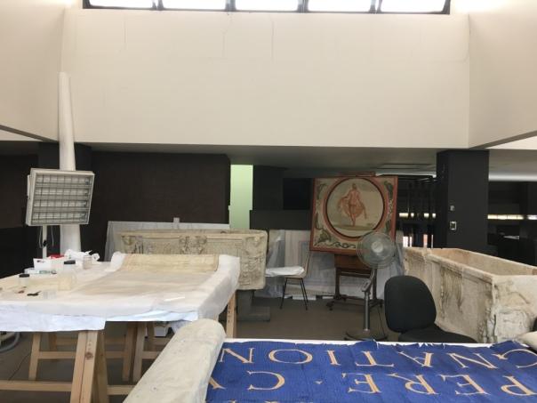 Espacios de restauración de obras artísticas del Vaticano by TravellersandCo