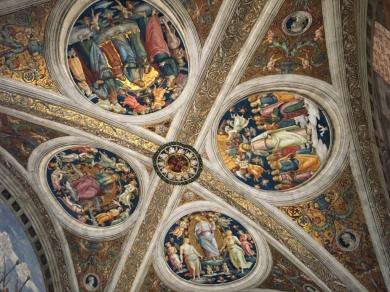 Tesoros artísticos del Vaticano. Detalle de los techos by TravellersandCo