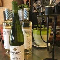 Vino sin alcohol Natureo Restaurante Palangreros by TravellersandCo
