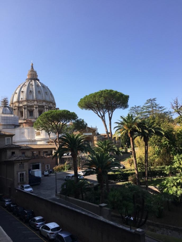 Vistas de la Cu´pula de San Pedro desde el interior del Vaticano by TravellersandCo