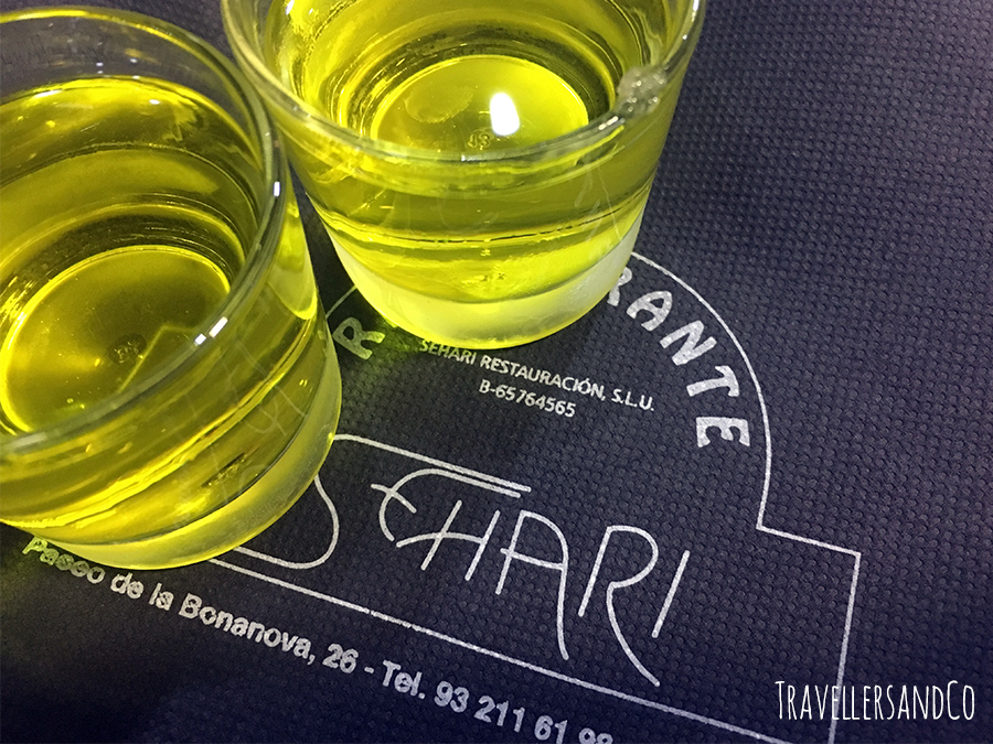 Chupito-Restaurante Sehari, Barcelona by TravellersandCo.jpg