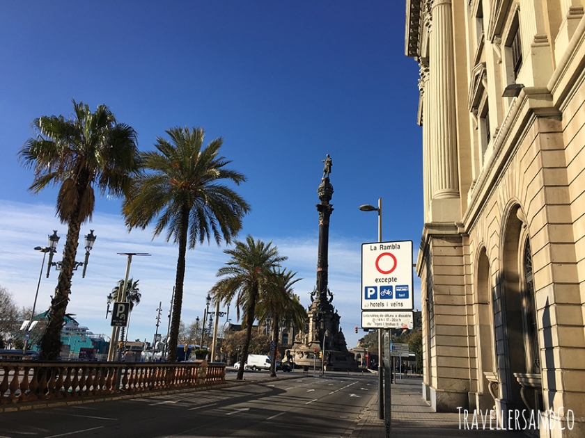 Paseo de Colon las Ramblas  Barcelona by TravellersandCo.jpg