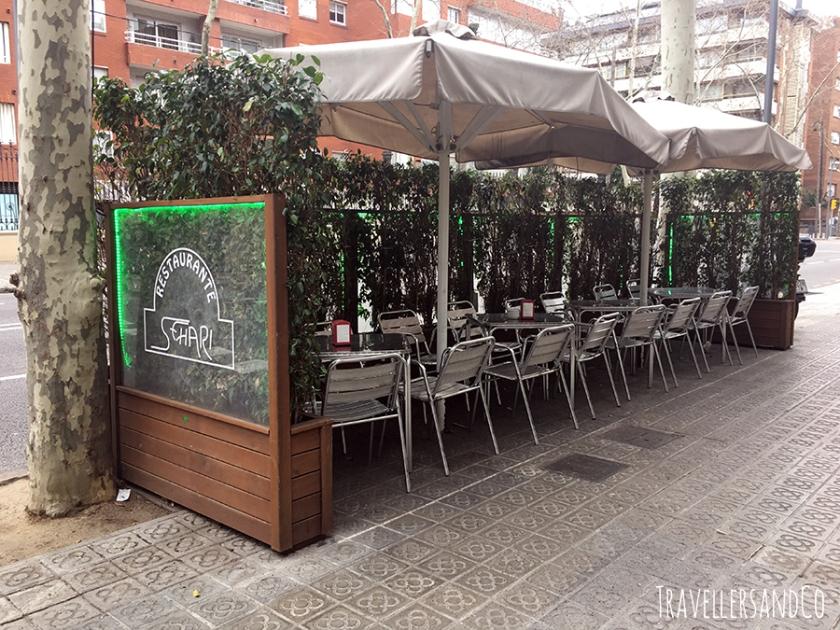 Terraza-Restaurante Sehari, Barcelona by TravellersandCo